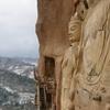 Huge Bodhisattva Sculptures At Maijishan