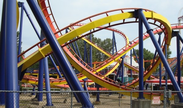 Mantis Roller Coaster United States Photos
