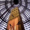 Melbourne Central Abseiling Shot Tower