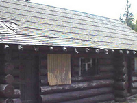 Milner Pass Road Camp Mess Hall and House