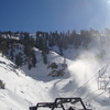 One Of The Ski Lifts At Mount Baldy