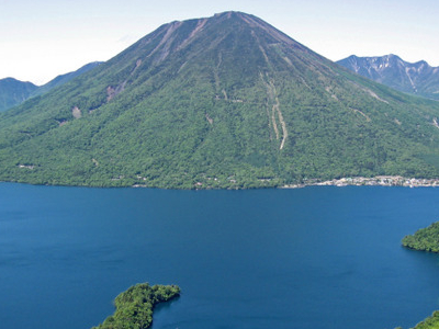 Mount Nantai And Lake Chuzenji