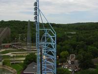 Mr. Freeze Roller Coaster