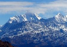 Nanda Devi With Surrounding Landscape - Uttarakhand