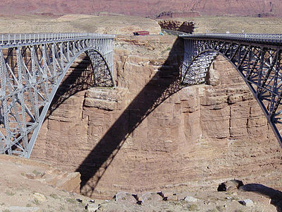 Navajo Steel Arch Highway Bridge