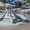 Nelson Mandela Road Traffic Island