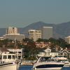 Newport Center Skyline And Santa Ana Mountains