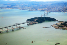 New SanFran Bay Bridge Under Construction