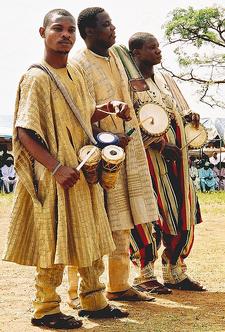 Nigerian Drummers