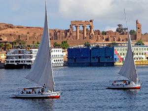 Pharaoh Egypt Nile Fotos