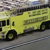 A Fire Truck At Salt Lake City Airport