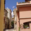 A Street In Nuoro\\\'s Historic Centre