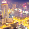 Night View Of The Hanzhong City