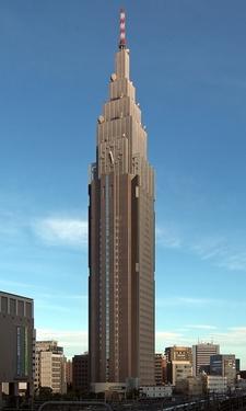 View Of NTT Docomo Yoyogi Building