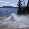 Occasional Geyser - Yellowstone - USA