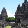 Old Temples In Front Of Prambanan