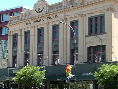 Opera House Wellington