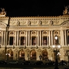 Front Of The Palais Garnier Illuminated At Night