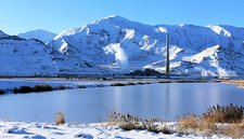 Oquirrh Mountains - Winter View