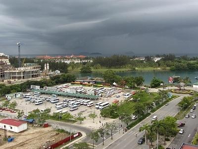 Overview Kota Kinabalu & South China Sea