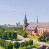 Old Königsberg Amid The Modern Kaliningrad
