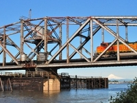 Oregon Slough Railroad Bridge