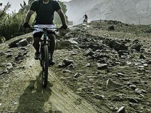 Mountain Bike in Lima Valley Photos