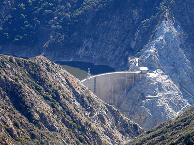 The Pacoima Dam