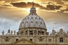 Palace Of The Vatican - Rome