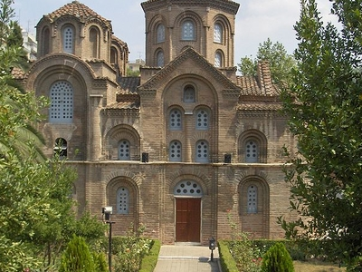 Panagia Chalkeon Church In Thessaloniki