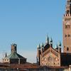 Panorama Of Cremona View Of Cremona