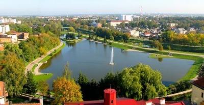 Panorama Of Panevys Downtown