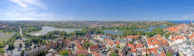 Panorama Image Of Stralsund