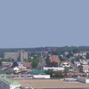 Panoramic View Of Hazleton Overlooking Downtown