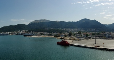 Panoramic View Of Igoumenitsa
