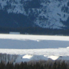 Panoramic View Of The Teton Range Looking West From Jackson Hol