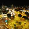Parque Kennedy - Aerial Night View