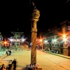 Patan Durbar Square - North End - Night View
