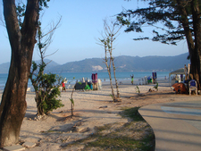 Patong Beach Genral View