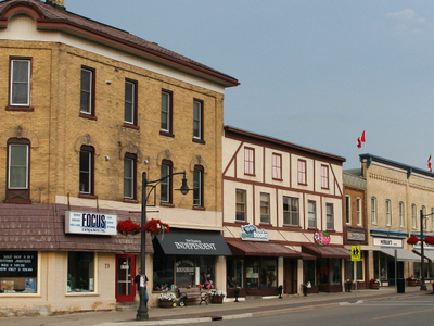 Peel Street In New Hamburg.