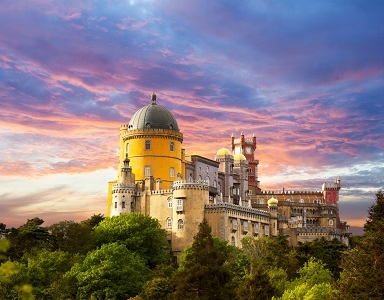 Pena National Palace In Sintra