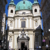 Peterskirche From The Graben