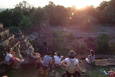 Phnom Bakheng - Viewpoint Of Sunset.