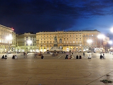 Piazza Del Duomo - Night View - Milan