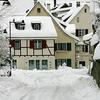 Houses On Ermitagestrasse In Arlesheim