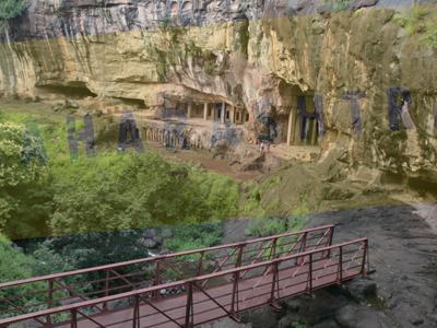 Pitalkhora Caves