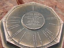 Plaque Uluru