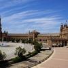 Plaza De Espana Panorama - Seville Andalusia