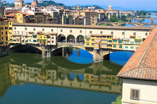 Ponte Vecchio Bridge From Uffizi - Florence