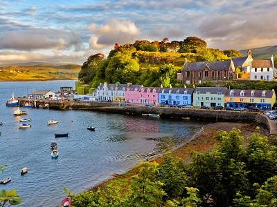 Portree - Scotland Isle Of Skye